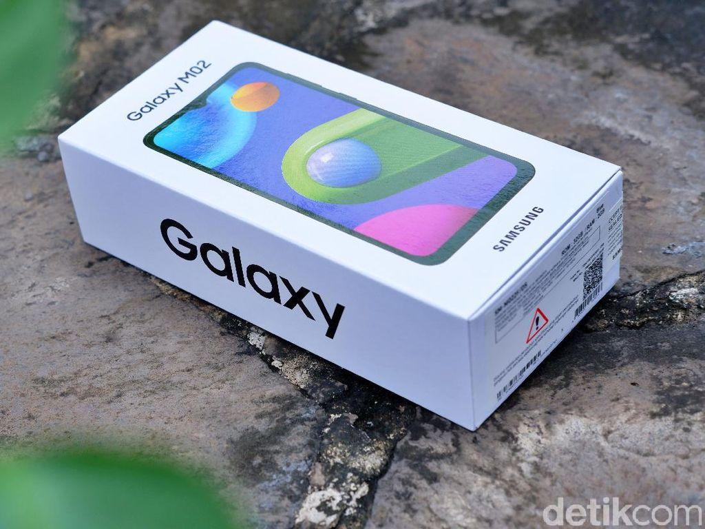 Ini Samsung Galaxy M02, Teman Belajar Online Harga Rp 1,299 Juta