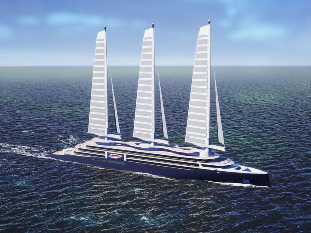 Rupa 3 Kapal Layar dengan Desain Ramah Lingkungan, Canggih, dan Memukau