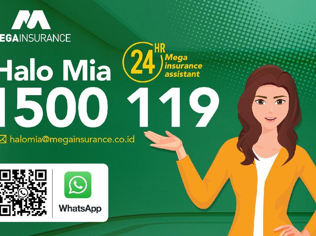 Lewat Halo MIA, Pelanggan Bisa Hubungi Mega Insurance 24 Jam