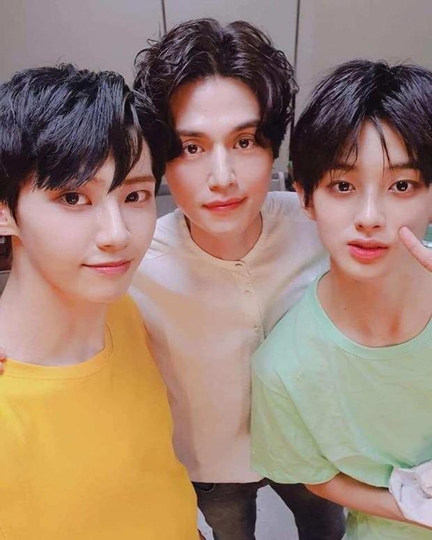 Lee Jinhyuk, Kim Minkyu dan Lee Dongwook
