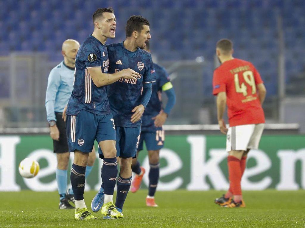 Benfica Vs Arsenal Imbang 1-1