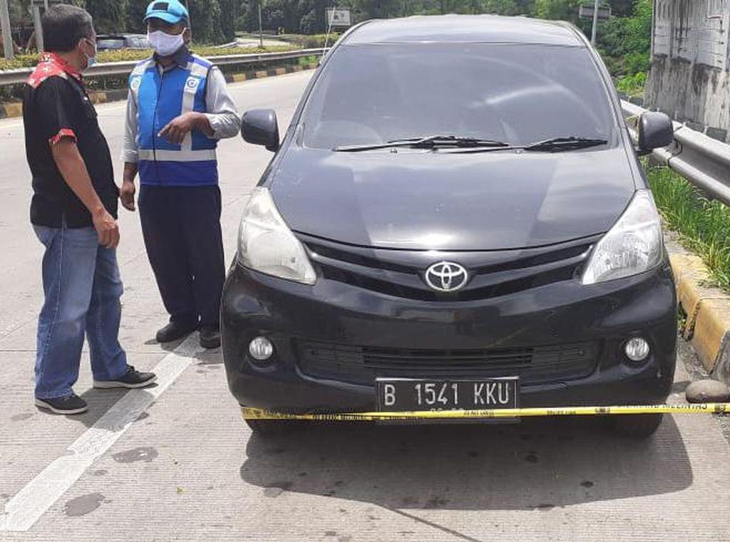Pengemudi Mobil Ditemukan Tewas di Exit Tol JLJ Jatiasih Bekasi