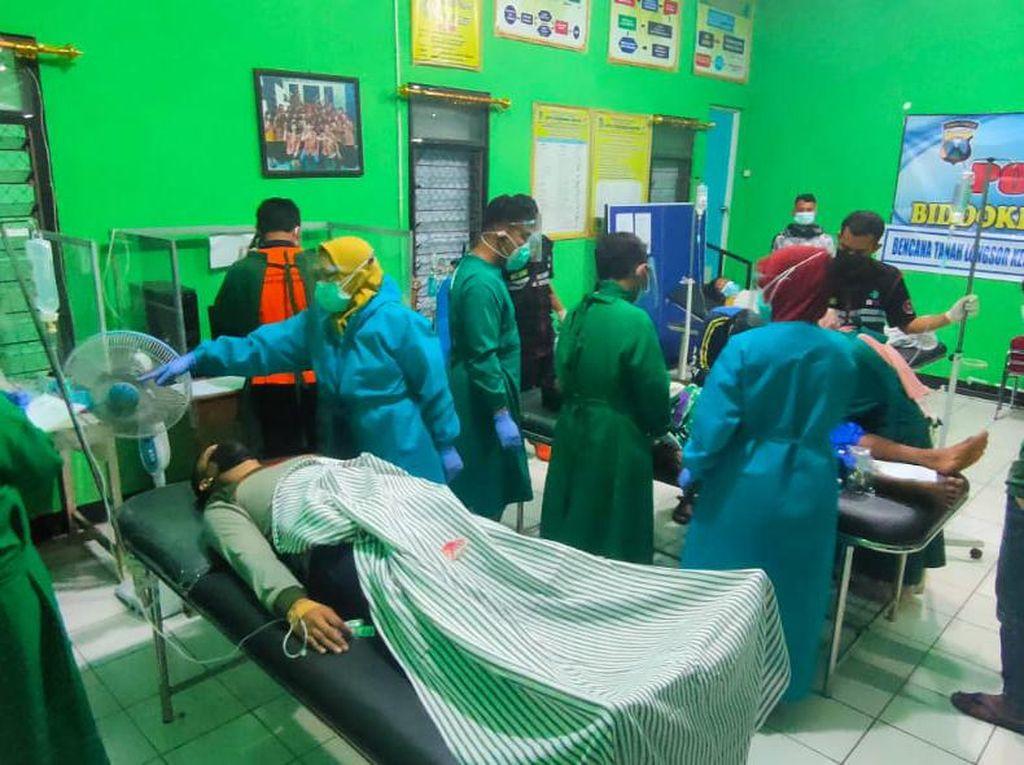 Jumlah Pengungsi Longsor Nganjuk yang Keracunan Massal Bertambah Jadi 44