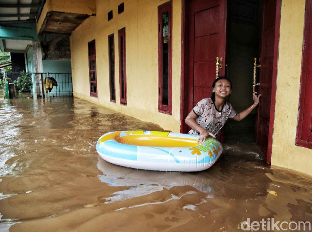Cipinang Melayu yang Kata Anies Sudah Tidak Banjir