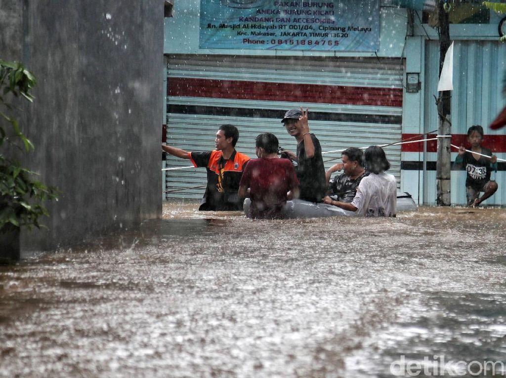 Bicara Kapasitas Drainase, Ini Analisis Pemprov soal Banjir Jakarta