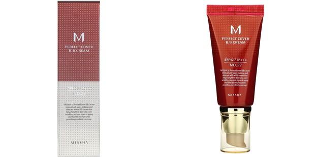Missha Perfect Cover BB Cream SPF 42 PA++ menawarkan konsep perawatan kulit baru dengan BB cream yang mencerahkan kulit dengan menyembuhkan keriput dan noda yang terlihat.