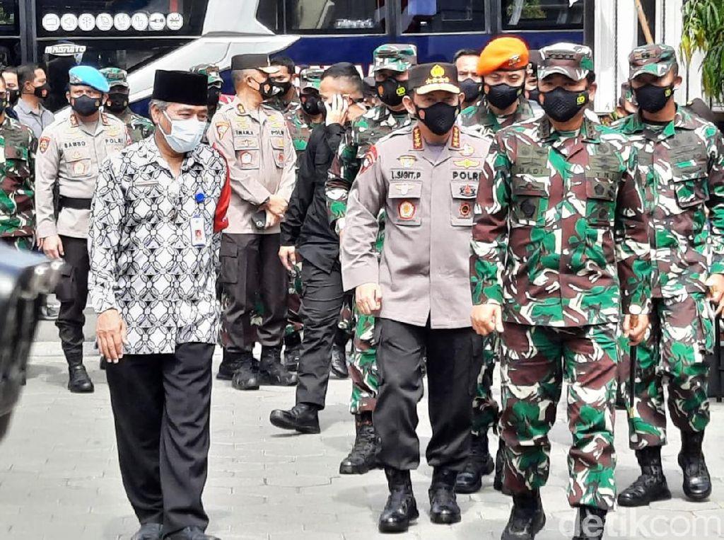Panglima TNI-Kapolri Cek Pelaksanaan PPKM Mikro di Sleman, Apa Hasilnya?