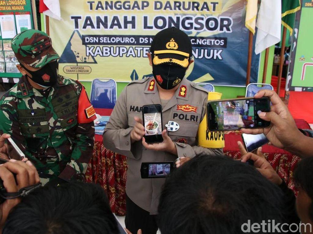 Polisi Akan Panggil 4 Pengirim Mi Ayam untuk Korban Longsor Nganjuk