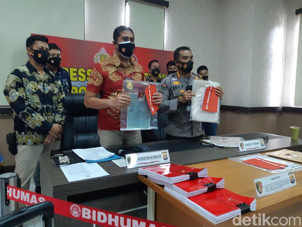 Berkas Perkara PNS Mafia Tanah di Serang Diserahkan ke Kejaksaan