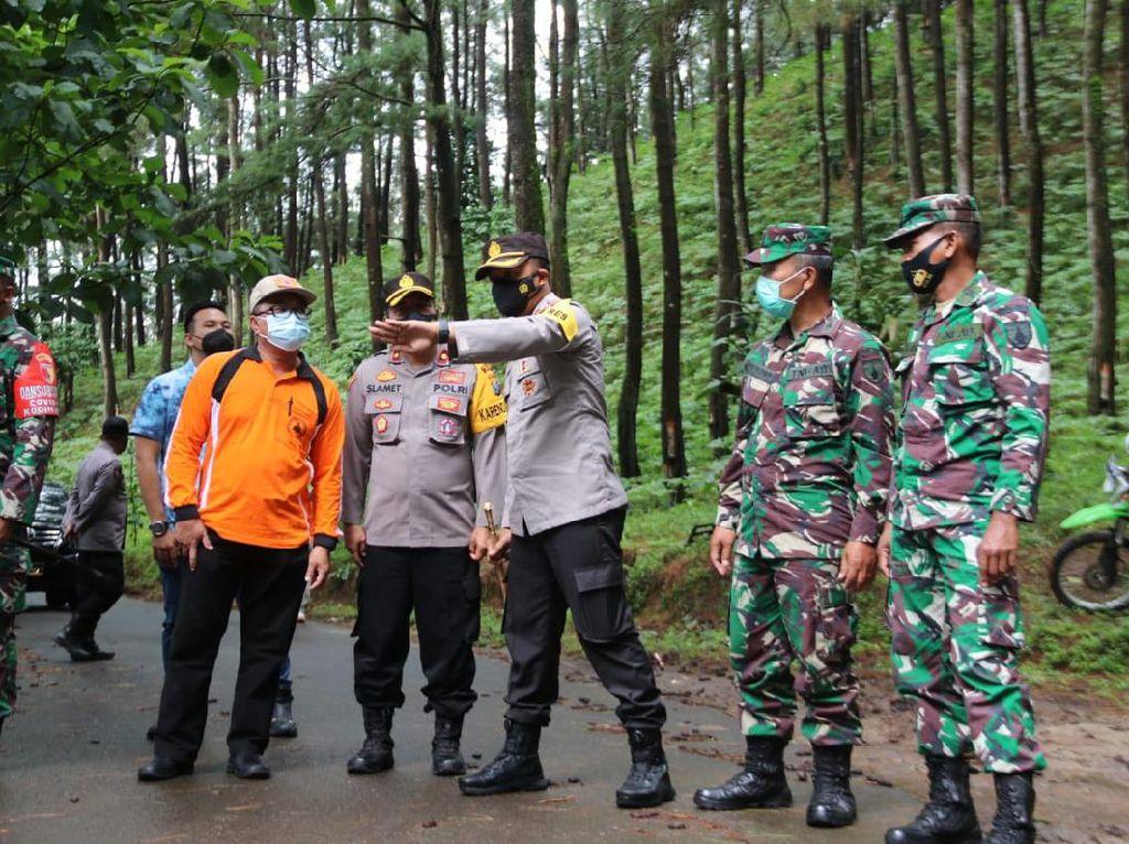 Dua Titik di Lereng Gunung Lawu Ngawi Rawan Longsor