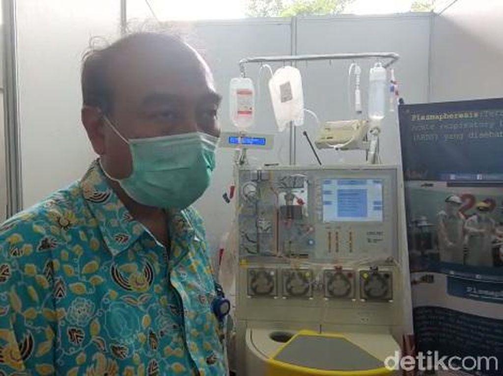 UNS Kembangkan Plasmapheresis, Terapi Plasma COVID-19 Tanpa Perlu Donor