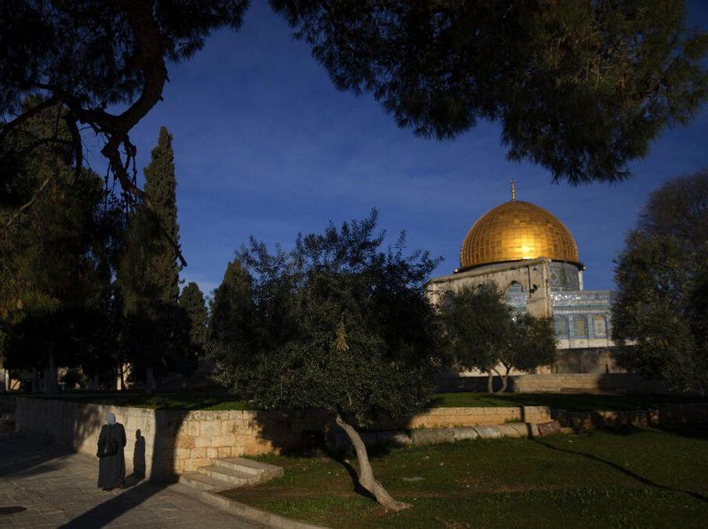 Akan Hadiri Isra Mikraj, Imam Masjid Al Aqsha Ditangkap Israel