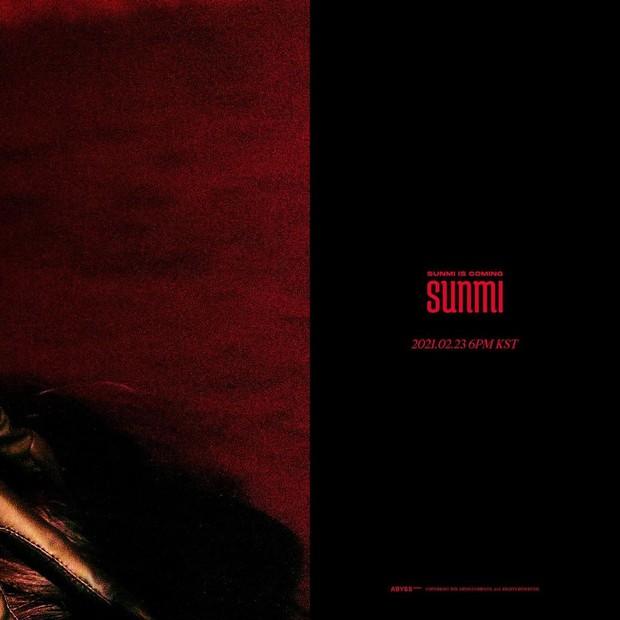Sunmi merilis foto teaser pertamanya untuk comeback terbaru