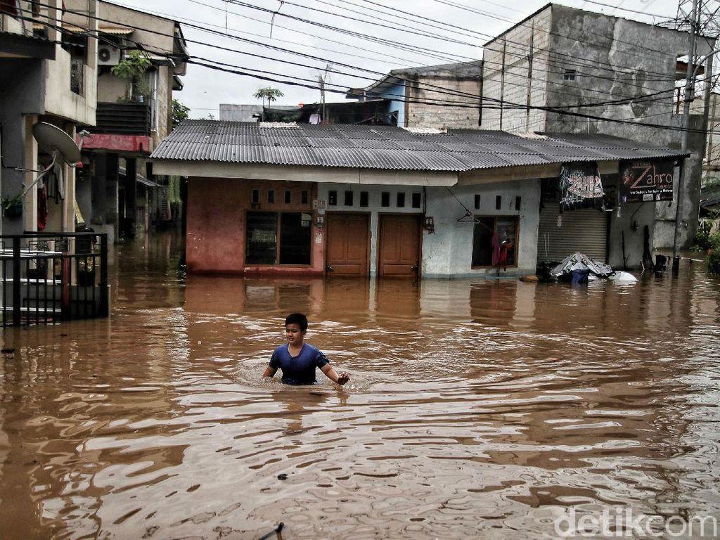 Cipinang Melayu Banjir Lagi Usai Dibanggakan Anies, Wagub: Curah Hujan Tinggi