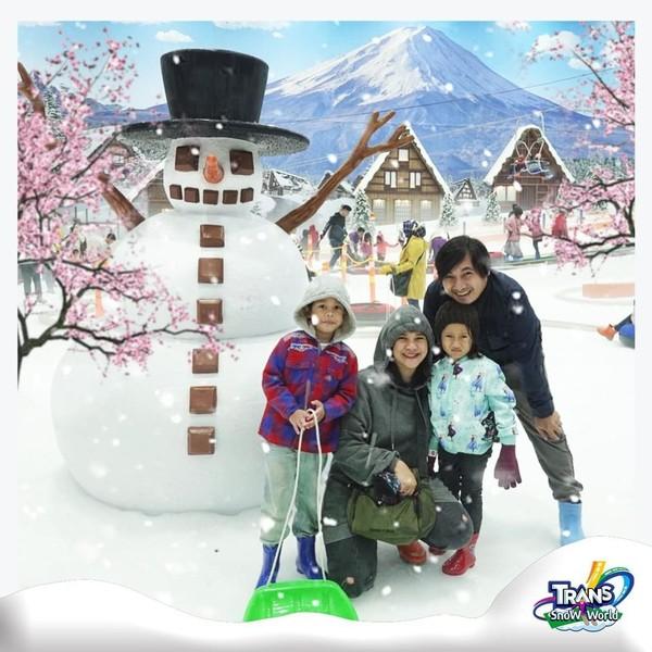 trans snow world bintaro tiket terjangkau untuk keluarga