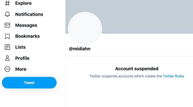 Twitter Otong Koil Kena Suspend