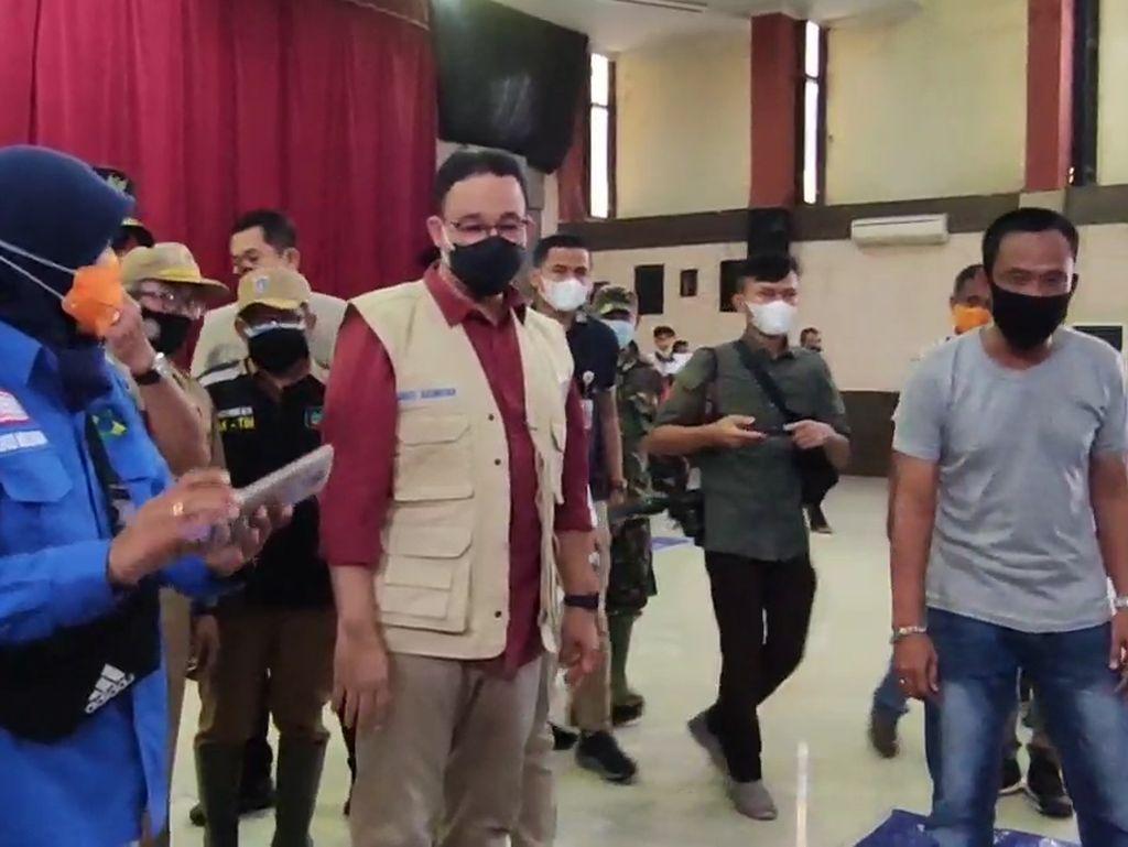 Jawaban Anies Baswedan soal Banjir Ibu Kota Lebih dari 6 Jam