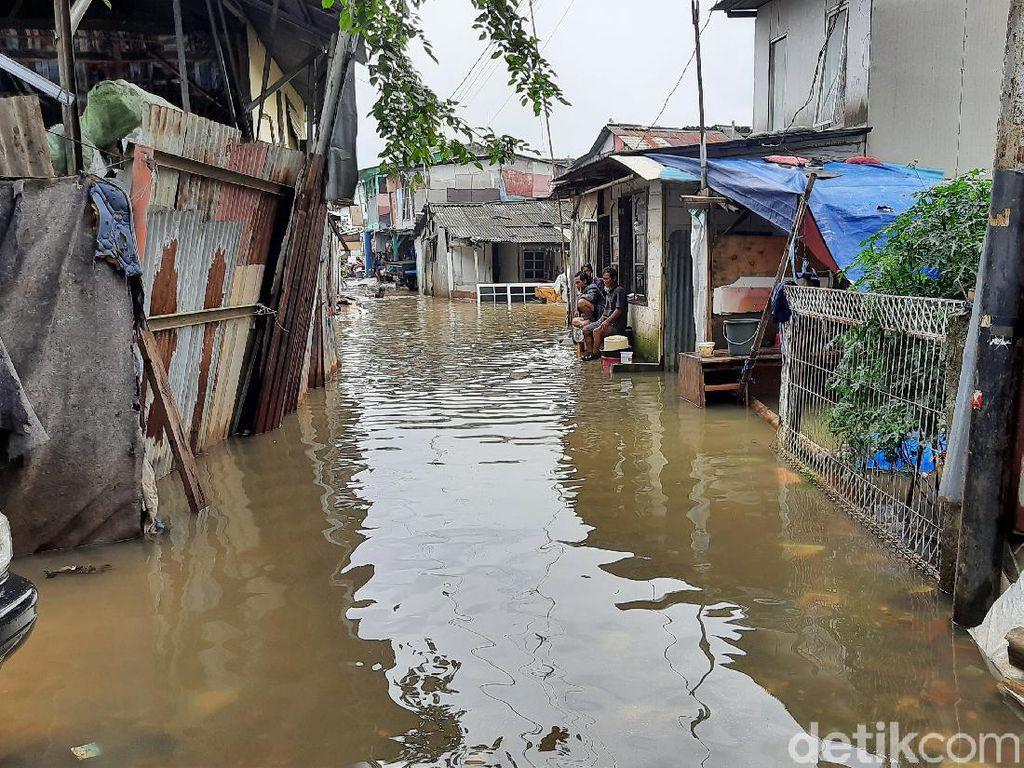 Banjir di Kampung Caman, Ketinggian Air Capai 80 Cm