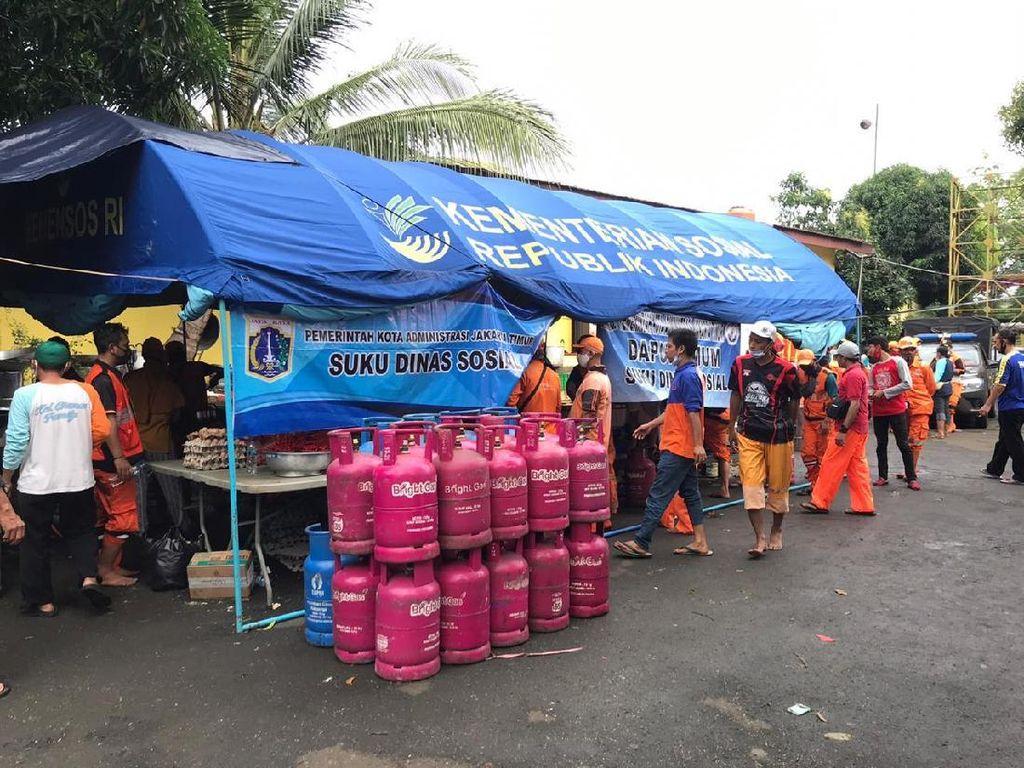 Pertamina Sumbang 190 Bright Gas ke Dapur Umum Banjir Jakarta