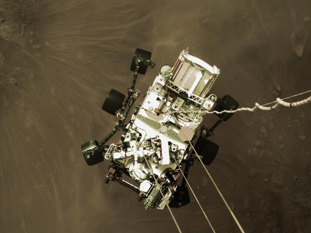 Dengarkan, Ini Suara Pertama yang Direkam di Planet Mars
