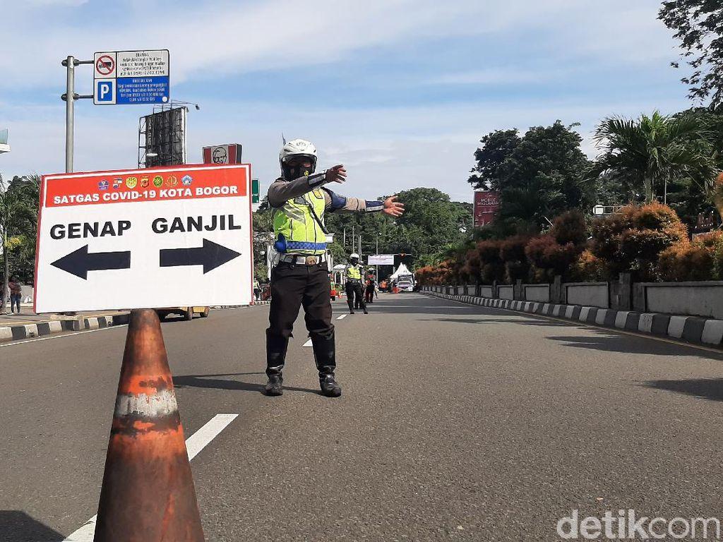 Ingat, Hari Ini Mulai Jam 9 Berlaku Lagi Ganjil Genap Kota Bogor