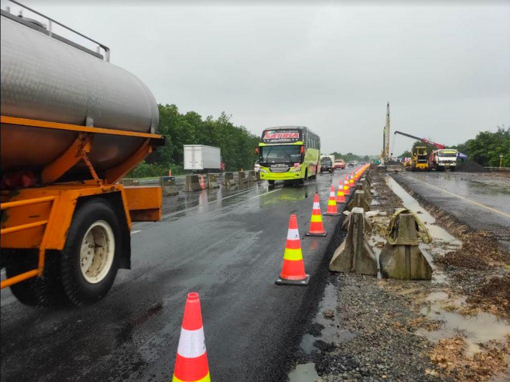 Jalur Darurat Tol Cipali Mulai Digunakan Pagi Ini