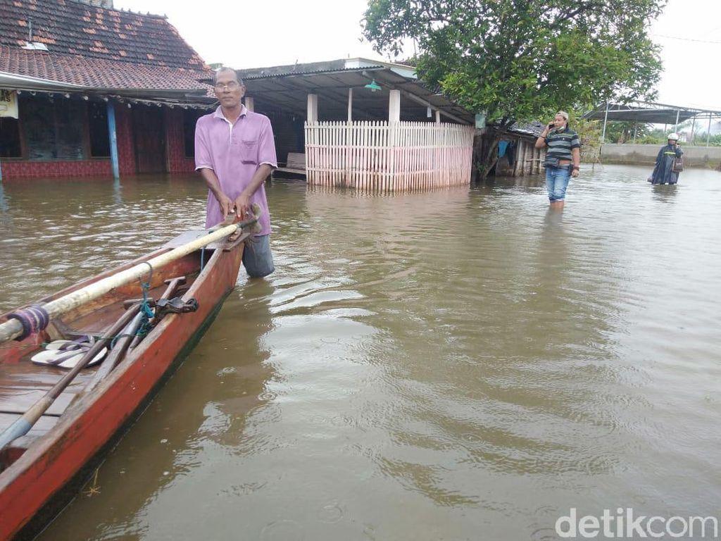 Jumlah Kecamatan Terdampak Banjir di Pati Bertambah