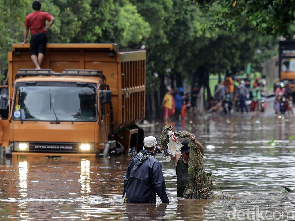 Banjir di Jakarta Jadi Sorotan Media Asing