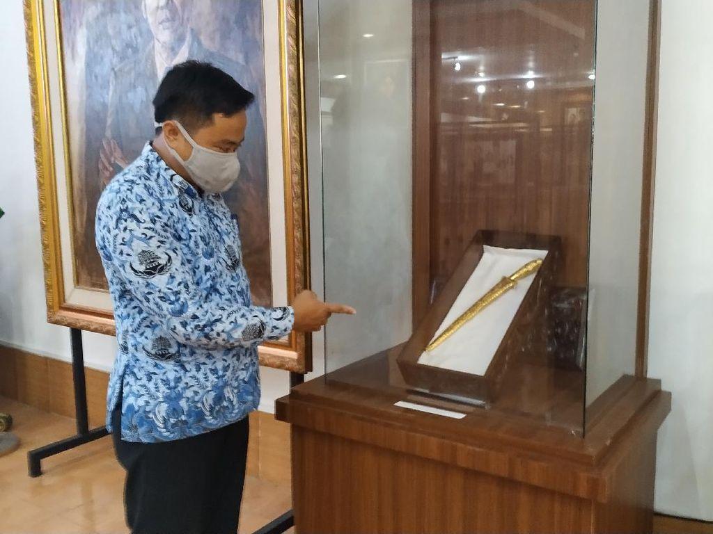 Melihat dari Dekat Pusaka Bung Karno di Blitar, Kiai Sekar Jagad dan Gong Kiai Djimat
