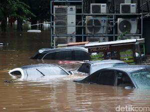Picu Banjir di Banyak Titik, Begini Peta Sebaran Hujan di Jabodetabek