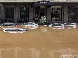 Menyelamatkan Mobil yang Terlanjur Kena Banjir