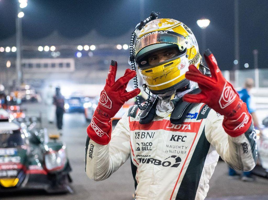 Sean Gelael di Abu Dhabi: Balapan 3,5 Jam, Susut 4 Kg
