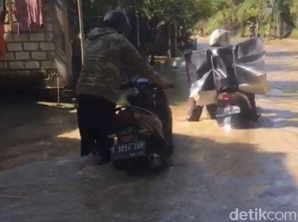 Enam Desa di Dua Kecamatan Lamongan Kembali Dikepung Banjir
