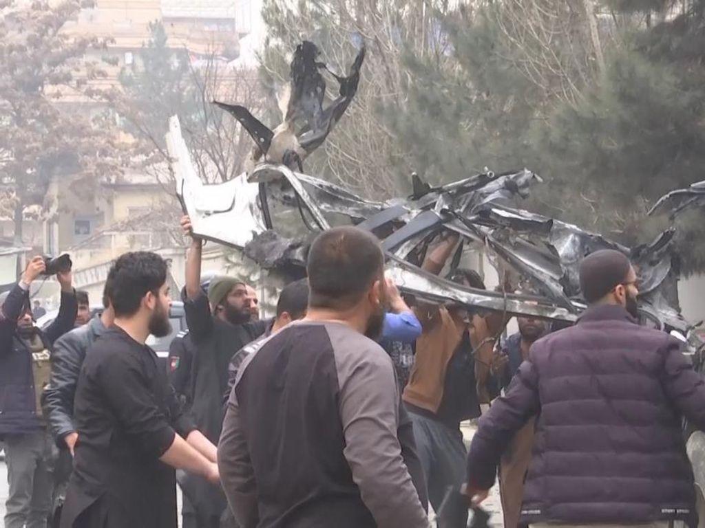 Tiga Ledakan Mengguncang Afghanistan, 5 Orang Tewas