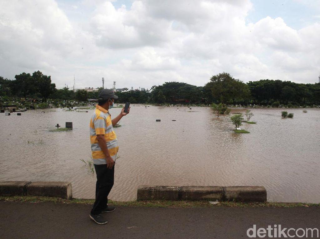TPU Tanah Kusir Kebanjiran