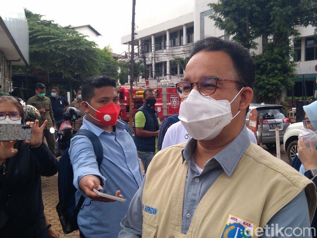 4 Pernyataan Anies Baswedan Usai Jakarta Kebanjiran