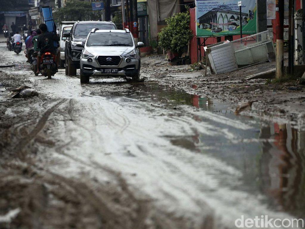 Update Titik Banjir dan Genangan di Bekasi yang Sudah Mulai Surut