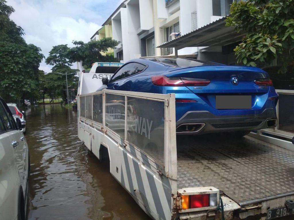 Banjir Jakarta dan Sekitarnya, Evakuasi Gratis Khusus Mobil BMW dan MINI