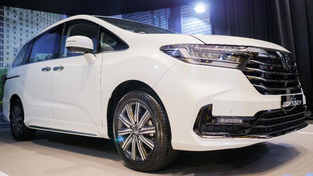 Wujud Honda Odyssey Facelift 2021, Siap Tantang Toyota Alphard