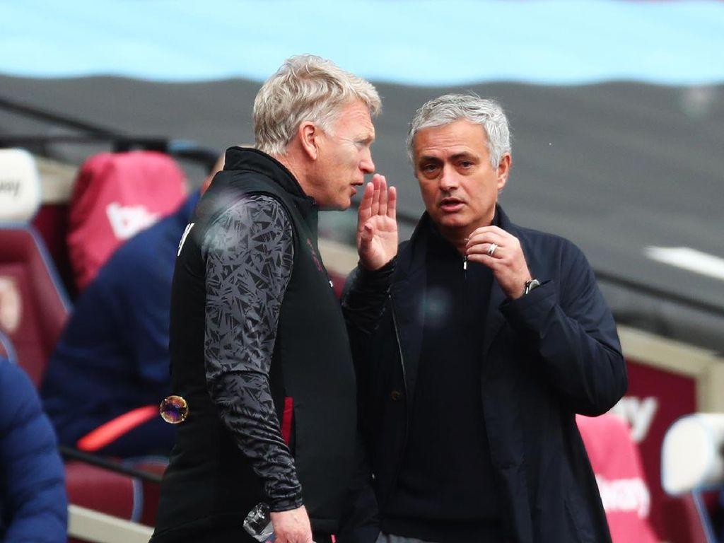 Mourinho Akhirnya Tumbang di Tangan Moyes
