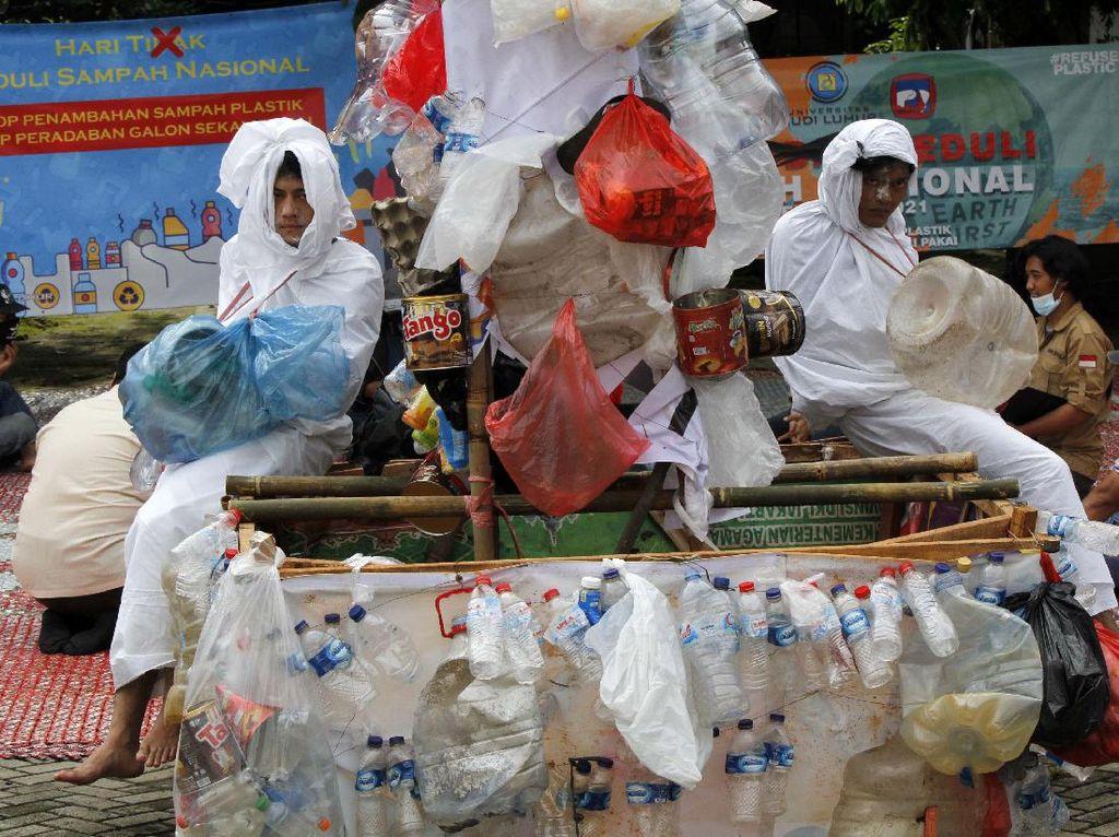 Kampanye Stop Sampah Plastik di Jakarta