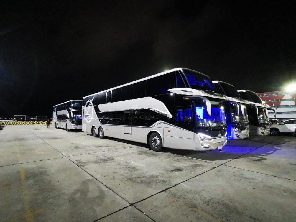 Punya Selera Berbeda, Ini Spesifikasi Bus Buatan Indonesia yang Diekspor