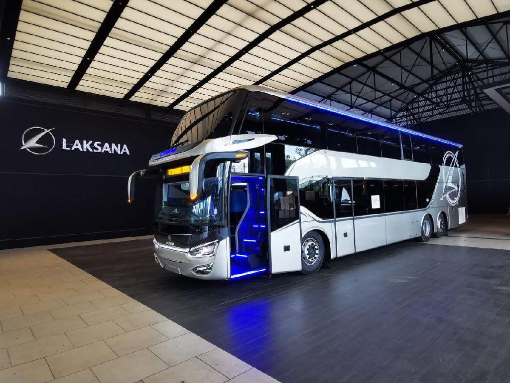 Spesifikasi Bus Tingkat Laksana yang Diekspor ke Bangladesh