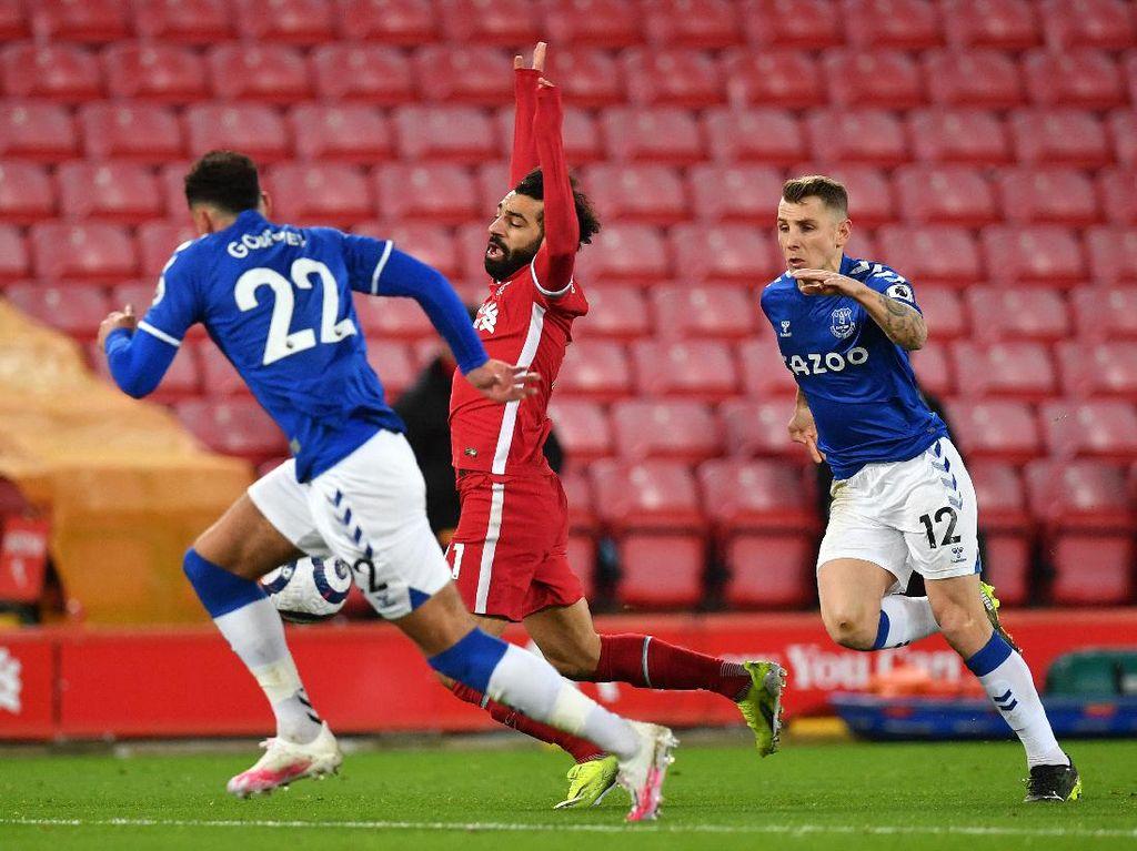 Liverpool Vs Everton: Salah Lagi-lagi Dianggap Diving