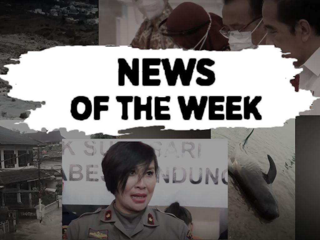 TOP 5:  Jokowi Tegaskan Tak ada Reshuffle, Mobil Warga Terseret Banjir