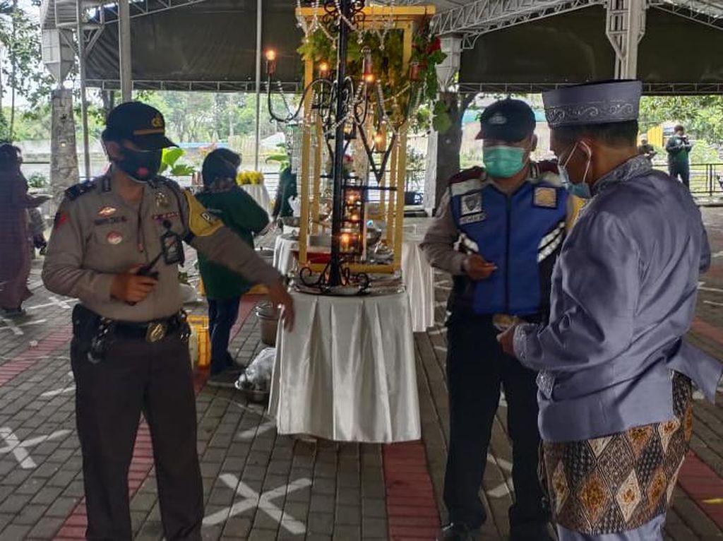 Masih PPKM Mikro, Resepsi Pernikahan di Surabaya Dibubarkan Polisi