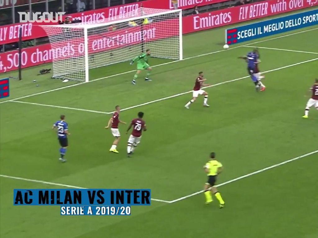 Video: Gol-gol Romelu Lukaku ke Gawang AC Milan
