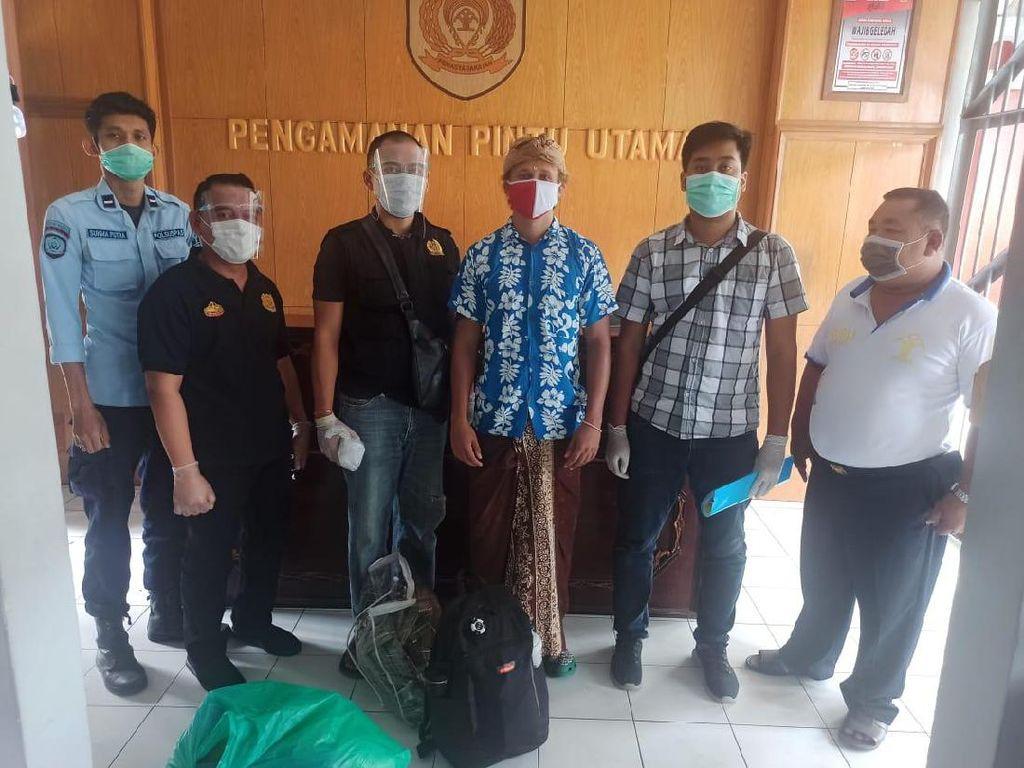 Napi WN Rusia Kasus Narkoba di Bali Bebas Usai Jalani Hukuman Bui Setahun