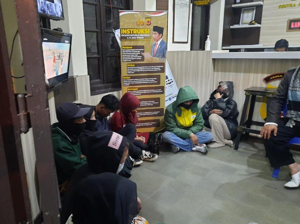 10 Pasangan Diduga Mesum Terjaring Razia Polisi di Kosan-Penginapan Cianjur