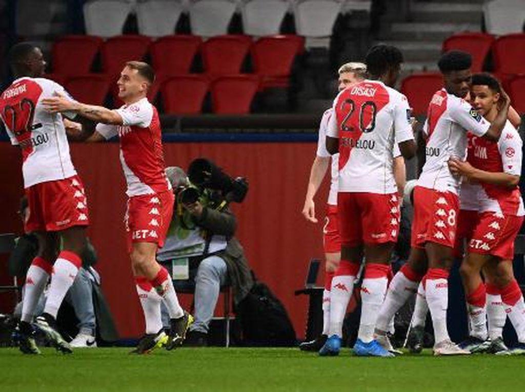 PSG Vs Monaco: Mbappe Tak Berkutik, Les Parisiens Tumbang 0-2
